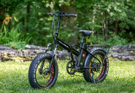 The SLane Columbus E-Bike Black