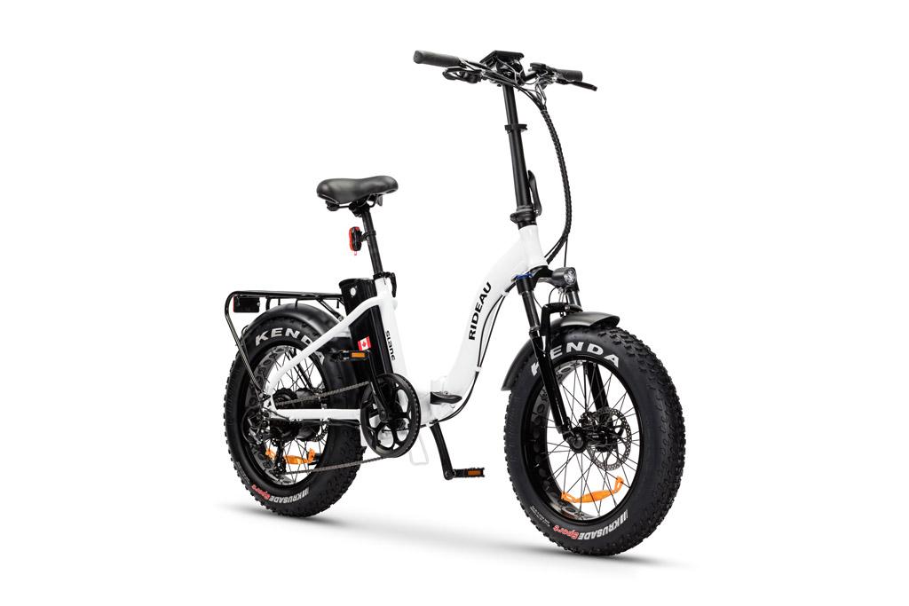 The Sland Rideau E-Bike White