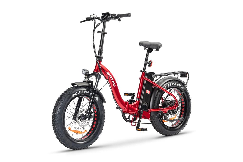 The The Slane Rideau E-Bike in Red