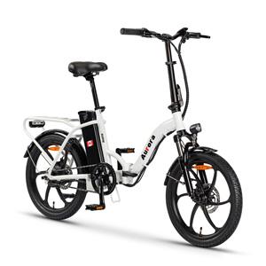 The Slanne Aurora E-Bike White