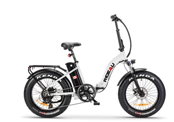 The Slane Rideau E-Bike in White