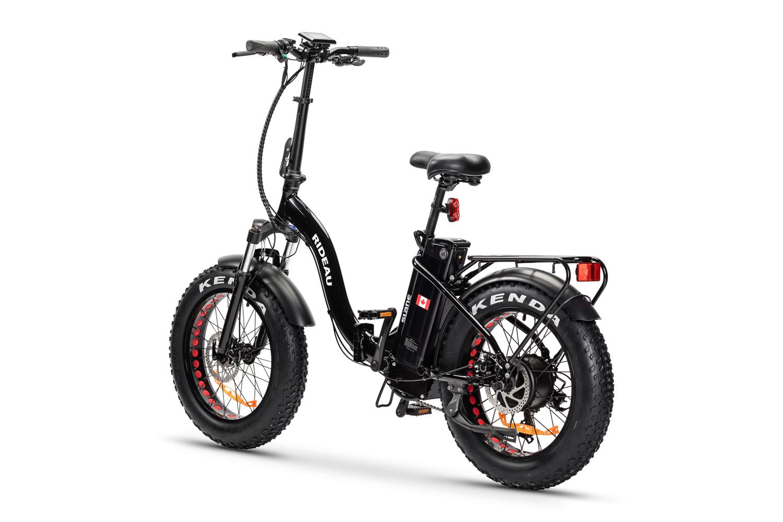 The Slane Rideau Black E-Bike