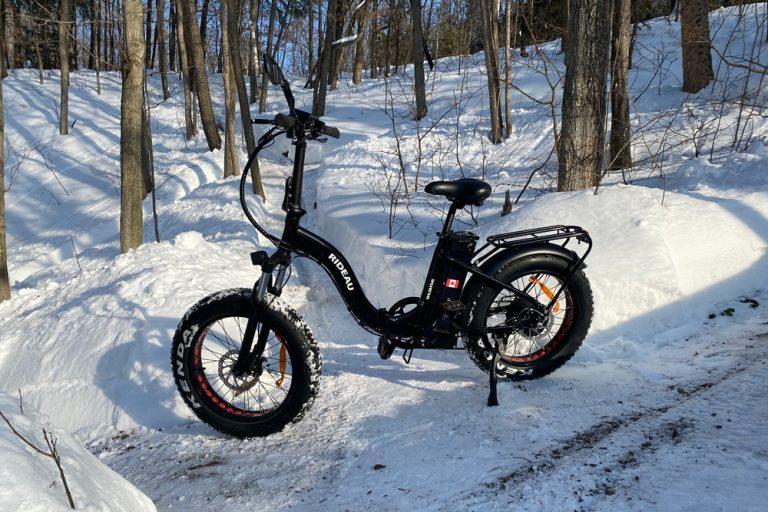 Rideau Winter trail riding