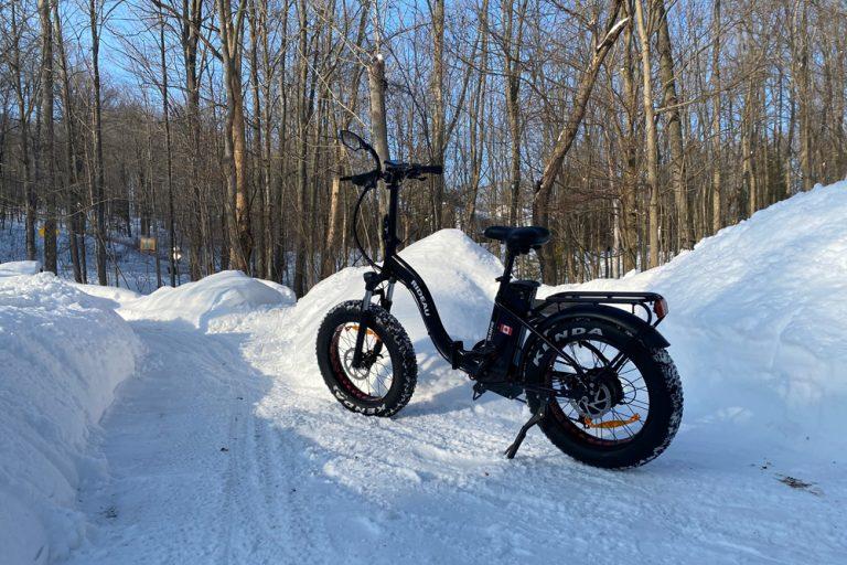 Rireau winter riding