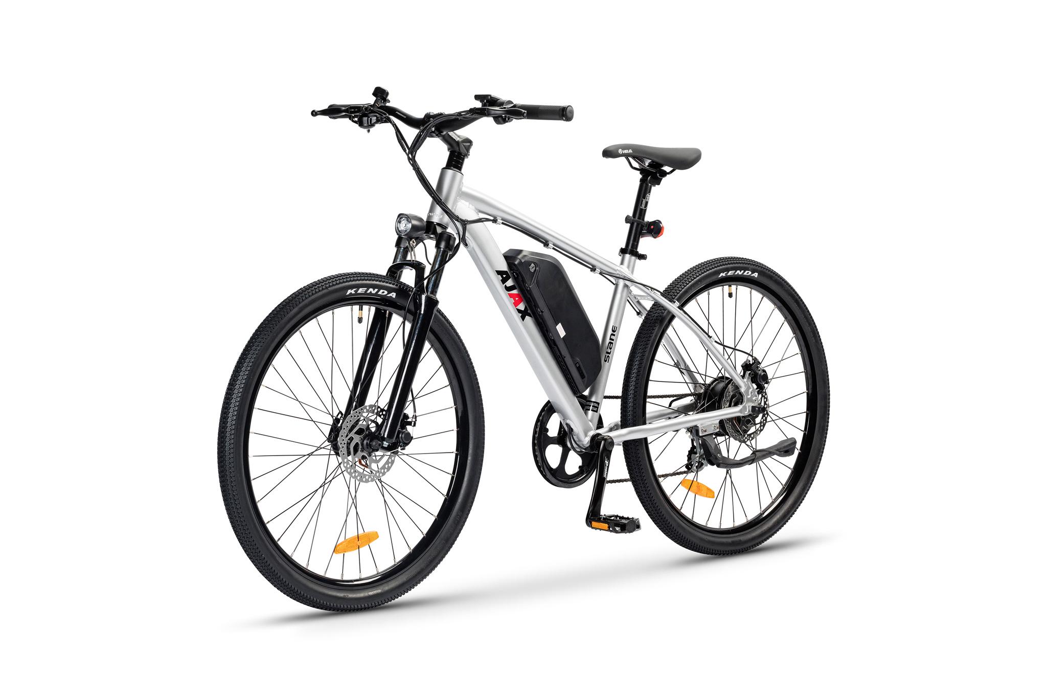 The SLANE Ajax MTB E-Bike Silver