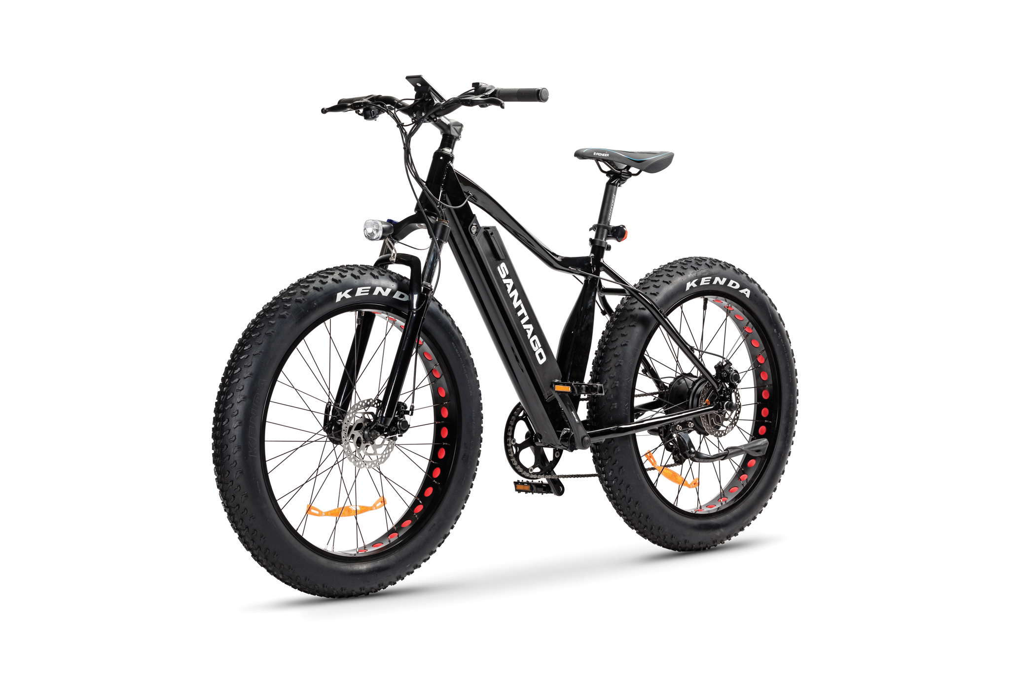 The Santiago Fat E-Bike Black